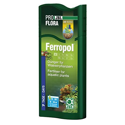 JBL Ferropol 23042 - Fertilizante para acuarios de Agua Dulce, 250 ml ✅
