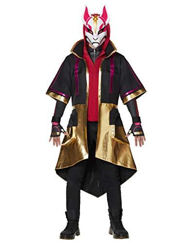 Spirit Halloween Adult Fortnite Drift Coat   Officially Licensed - S/M