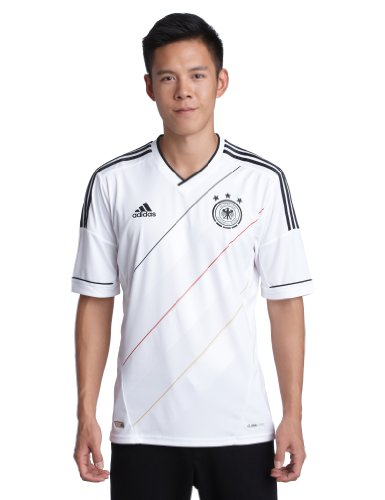 adidas Herren Trainingsshirt Trikot EM, weiß (DFB Home), XXL