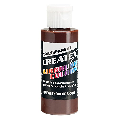 Createx Airbrush Colors transparent dark brown 4 oz. by Createx