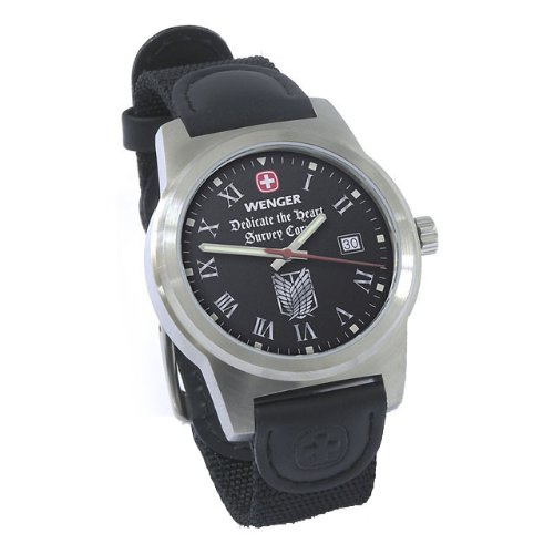 進撃の巨人×WENGER コラボ腕時計