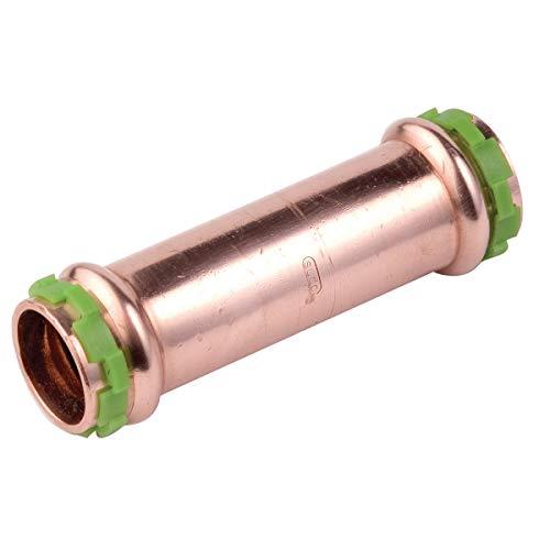 Kupfer Pressfitting SudoPress Schiebemuffe ohne Anschlag 12 mm x 12 mm, VC270S