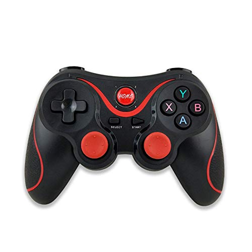 DEALBUHK Tablero de juego de Bluetooth inalámbrico, utilizado for iOS Android Teléfono inalámbrico Controlador de Joystick Controller Game Manija, utilizado for el marco de soporte de la caja de TV pl