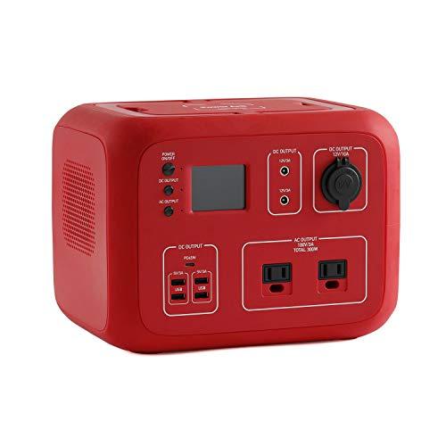 ポータブル電源 PowerArQ2 レッド (500Wh/45,000mAh/11.1V/正弦波 100V 日本仕様 蓄電池) 正規保証2年