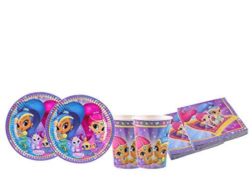 DECORATA PARTY Kit - A Fiesta de cumpleaños Shimmer & Shine