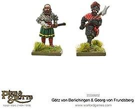 Pike & Shotte Warlord Games, Gotz Von Berlichingen & Georg Von Frundsberg, Wargaming Miniatures