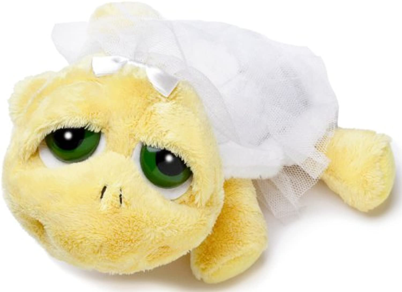 Russ Berrie Li'l Peepers 12  Yellow BRIDE SHELLY Plush Turtle