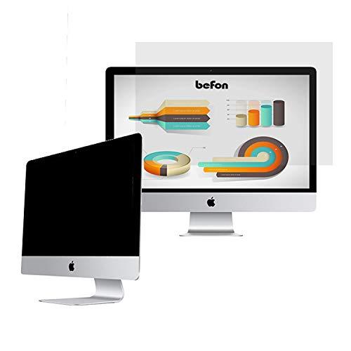 Befon Sichtschutzfilter 19 Zoll Displayfilter,Bildschirmfilter, Blickschutzfilter,376x301mm Breitbild 5:4 Blickschutzfolie für Laptops & Notebooks,Schützt Ihre Daten vor visuellen Hackern