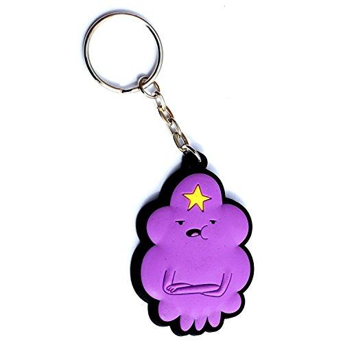 Animewild Adventure Time Lumpy Space Princess Rubber Keychain