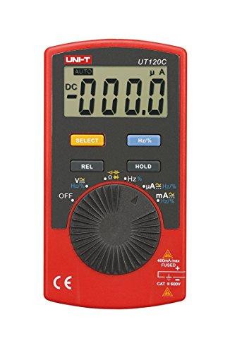 UNI-T UT120C/mie0144multimetro digitale con funzione automatica di commutazione, AC/DC di tensione e corrente, resistenza, continuità, diodi di tester