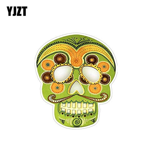 RJGOPL  10.4cm * 12cm classic dead sugar skull car sticker decal pvc accessories 6-0097