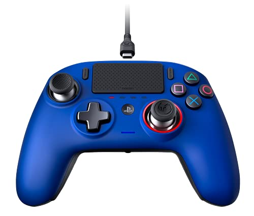 PlayStation 4: Nacon Revolution Pro Controller 3 Wired PS4 Ufficiale Sony - PlayStation 4, Blu