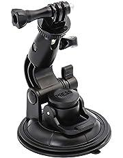 EXSHOW Soporte Coche para Cámara, Ventosa para Coche, para Canon, Hero 9 8 7 6 5 4 3+ 3 2, Nikon, Sony y Otras Deportes Acción Cámaras
