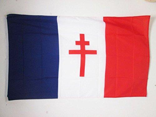 AZ FLAG Drapeau France Libre 1940-1944 150x90cm - Drapeau fr