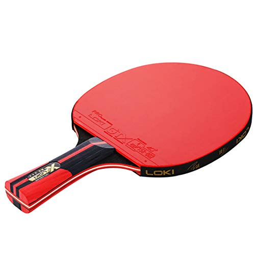For Sale! RUIXFTA Portable Table Tennis Bats, Pingpong Racket Set with 1 Bat and 2 Balls and Racket ...