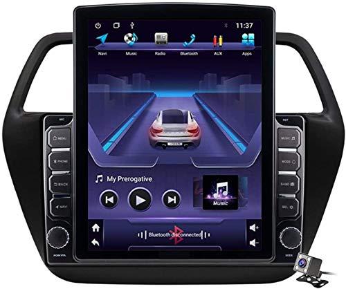 LYHY Schermo Verticale da 9,7 Pollici per Auto con Lettore multimediale Android 9.1 per Suzuki SX4 S-Cross 2013-2017, navigatore GPS con Supporto per autoradio USB BT Volante
