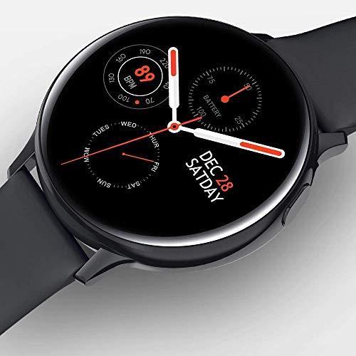 Smartwatch S20 Relogio inteligente Tela Full Touch Ip68 Freqüência Cardíaca Pressão Arterial Ecg Multi (Preto)