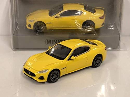 Minichamps 870123120 1:87 Maserati Granturismo-2018-gelb, metallic
