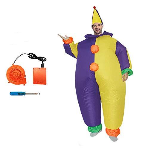 zhuao Aufblasbare Magische Sumo Anzüge, Clown Kleidung Lustige Requisiten, Mall Spiel Marionette Nsuits 12
