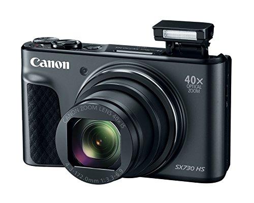 Canon PowerShot SX730 Digital Camera w/40x Optical Zoom & 3 Inch Tilt...