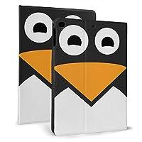 KUKUYE ペンギン 顔 iPad 9.7 ケース (2018モデル) Apple Pencil 収納可能 iPad 9.7 インチ (2017新型) 保護カバー new iPad 9.7手帳型 ケース PU 便利なペンホルダー付き