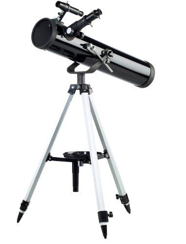Zavarius Fernrohre: Großes Spiegel-Teleskop 76/700 mit variablem Dreibein-Stativ (Fernrohr mit Stativ)