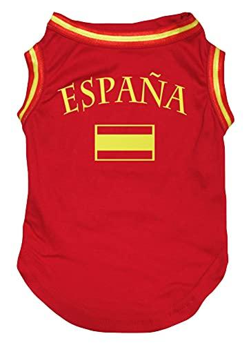 Camiseta De Fútbol España  marca Petitebella