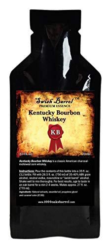 Kentucky Bourbon Whiskey Premium Essence | Bootleg Kit Refills | Thousand Oaks Barrel Co. | Gourmet Flavor for Cocktails Mixers and Cookery | 20ml 1oz sachet