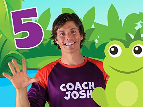 Five Little Speckled Frogs | Action Song for Children | Coach Josh