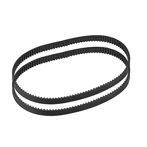 sourcing map GT2 Timing Belt 240mm Circumference 6mm Width Closed Fit Synchronous Pulley Wheel for 3D Printer 2pcs