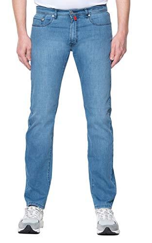 Pierre Cardin Herren Lyon Futureflex Strech Denim Modern Fit Jeans, Blau (blau 57), 34W / 30L