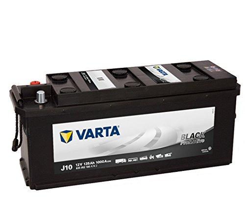Preisvergleich Produktbild Varta Promotive Black J10-12 V / 135 Ah - 1000 A / EN SHD RF Nutzfahrzeugbatterie