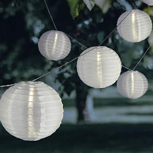 HI Lichtslinger met 25 LED-lampjes Chinese lantaarns