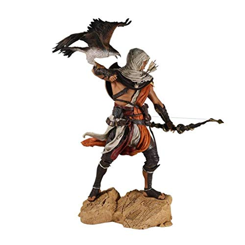 LBBD Bayek con Eagle Aciton Figura Maestro Asesino Nada es tura, Todo está Permitido