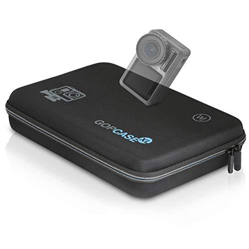 Wicked Chili XL Schutztasche kompatibel mit DJI OSMO Action-Cam Koffer Case Bag Tragetasche für DJI Kamera, Unterwassergehäuse und Zubehör (Tragegriff + Fach mit Reißverschluss)