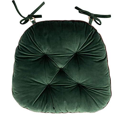 zyl Cojines para sillas de Comedor - Cojín Grueso Cojín para sillas de Estudiantes Cojín Suave Taburete para Mesa de Comedor Cojín para sillas de Comedor Oficina Invierno Cojines para sillas de