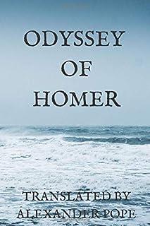 Odyssey of Homer translated by Alexander Pope