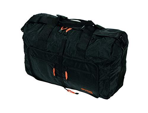 SKYPAK (02) 53CM ONBOARD SIZE FOLDING TRAVEL BAG IN BLACK