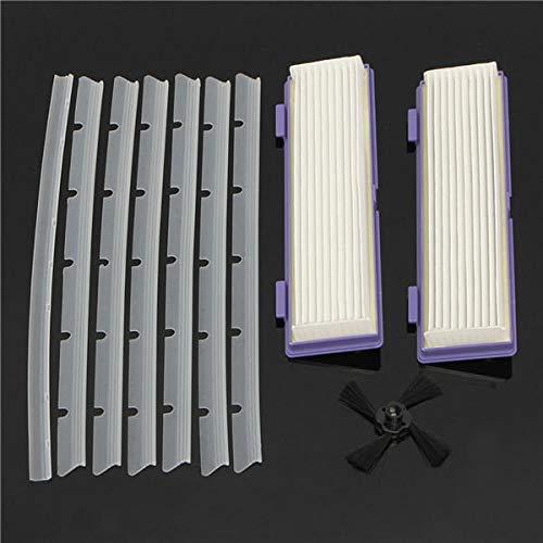 XCQ 10pcs Ersatzklebebänder/HEPA-Filter und Kratzchip für Neato XV Kehrmaschine dauerhaft 0325