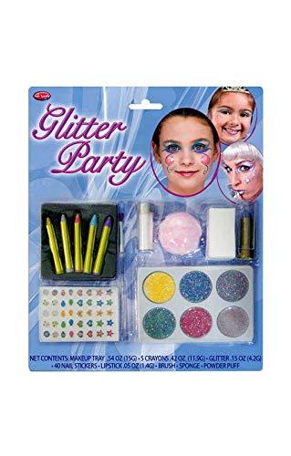 Horror-Shop Girlie Glitter Maquillage Set