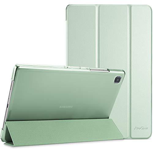 ProCase Funda para Galaxy Tab A7 10.4' 2020 T500 T505 T507, Carcasa Delgada con Posterior Translúcido para Tableta Galaxy Tab A7 10.4 Inch SM-T500/T505/T505N/T507 Versión 2020 - Verde