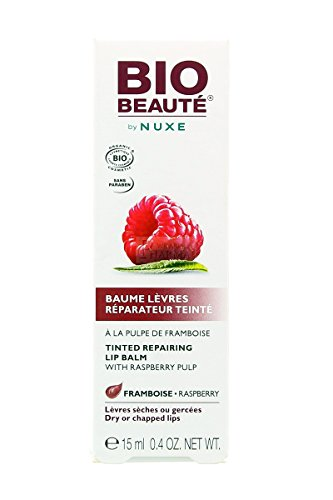 Bio Beauté Tinted Repairing Lip Balm 15ml - Tint : Raspberry