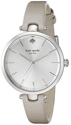 kate spade new york Women's 1YRU0813 Holland Analog Display Japanese Quartz Grey Watch