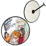 Miroir professionnel de surveillance - Convexe - 60 cm - Plus besoin de visser pour régler le miroir