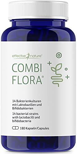 effective nature Combi Flora Kapseln - 180 Kapseln - Zur Täglichen Nahrungsergänzung