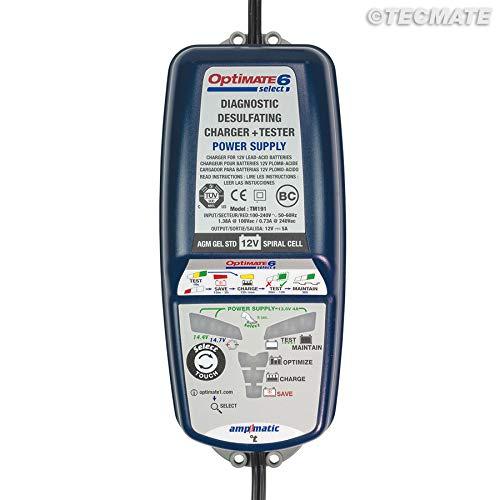 Batterieladeger/ät OptiMate 6