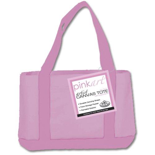 Royal & Langnickel PA-TOTE - Pink Art Tragetasche, aus Leinen