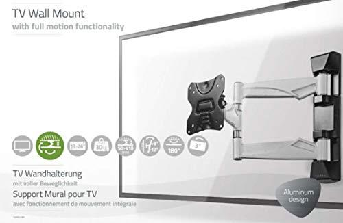 TronicXL Premium Aluminium Alu TV Wandhalterung voll beweglich für Telefunken XF22A101D XF22A101 XH20D101 XH20A101