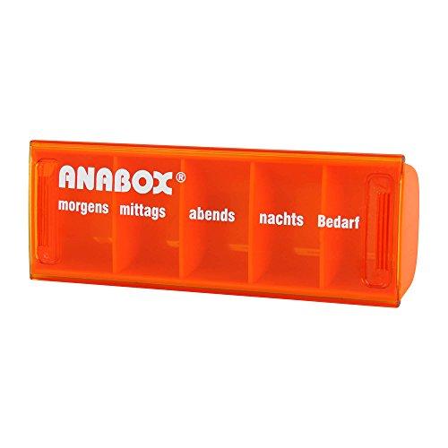 Anabox Tagesbox farblich sortiert, 1 St