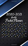 """2020-2021 Monthly Pocket Planner: 2-Year Calendar 2020-2021 Monthly Pocket Planner (Size 5.0"""" x 8.0"""") 24- Month Calendar Schedule Organizer and Birthday log Notebook (January 2020 - December 2021)"""